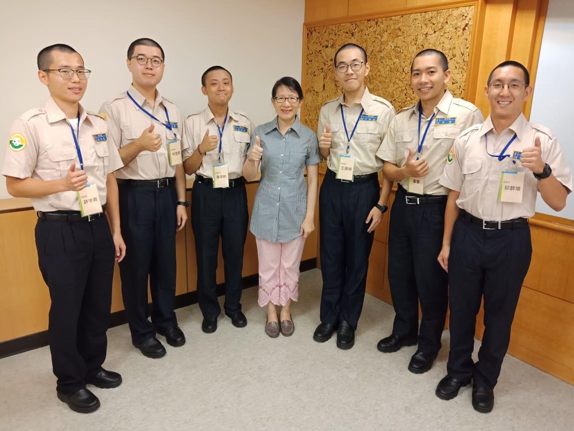本系3系友參與外交替代役專業訓練。